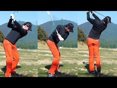 [1080P Slow] Rory McIlroy 2013 IRON golf swings (5)_Driving Range