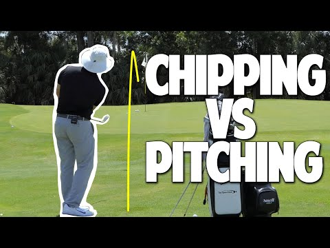 Chipping Vs Pitching   Complete Guide