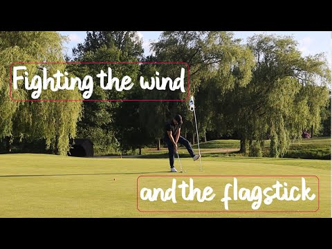 FIGHTING the WIND in my second round After Lockdown | Golf Course Vlog
