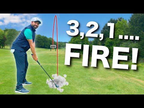 The SWINGLESS Golf Club   200+ yards EASY