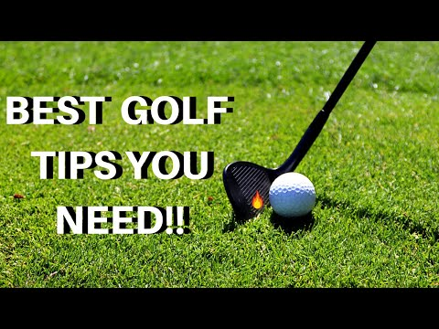 THE BEST GOLF SWING TIPS YOU NEED TO MASTER!!