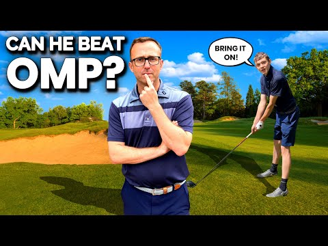 YOUNG GOLFER GETTING READY FOR HIS BIG CHALLENGE
