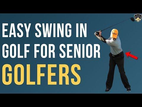 Easy Swing In Golf For Senior Golfers 🔥 3 Simple Tips For Power 🔥