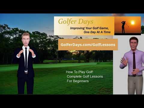 Golf Lessons Online For Beginners   Basic Golf Swing Tips For Beginners