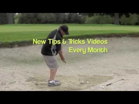 GOLF TIP – GETTING OUT OF A BUNKER