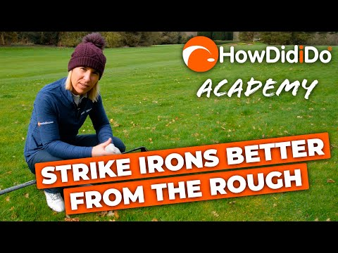 3 tips to strike your irons better from the ROUGH! | HowDidiDo Academy