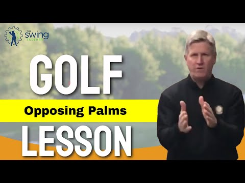 How to correct opposing palms and improve your golf swing – GOLF LESSON REVIEW
