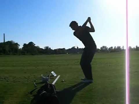 Golf Swing  (left handed)