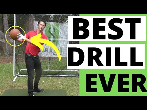 THE BEST DOWNSWING DRILL I've Ever Seen [Perfect Downswing Lesson]
