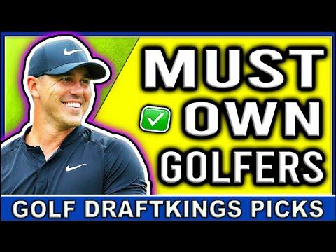 RBC Heritage DraftKings DFS MUST OWN Picks | DFS Golf Picks