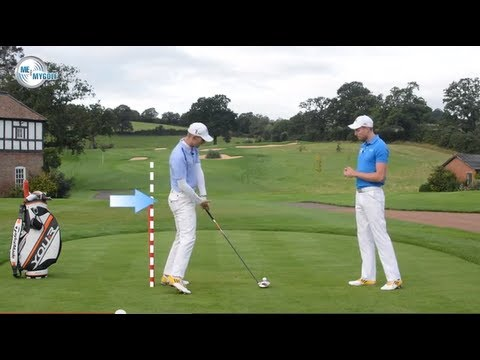 Golf Balance and Posture Drill For Great Ball Striking