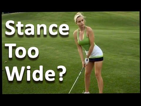 Golf Stance Width – 60 Sec. Golf Tips