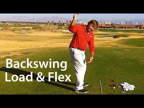 Golf Backswing – Load and Flex