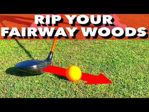 3 MUST DO'S TO RIP FAIRWAY WOODS – SIMPLE GOLF TIPS