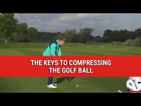 THE KEYS TO COMPRESSING THE GOLF BALL