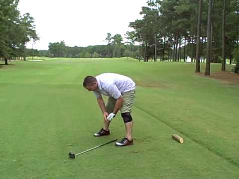 Funny Golf Swing