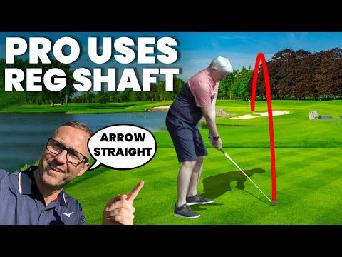 PGA PRO USES REGULAR SHAFT IRONS – FANTASTIC RESULTS!