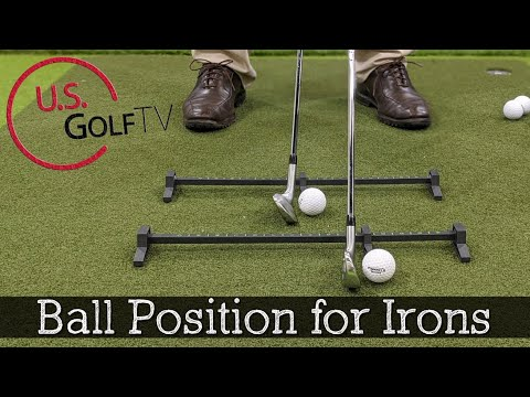 Ball Position for Irons – Long vs Short Irons