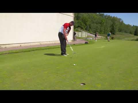 Golf tip: Putting gate drill