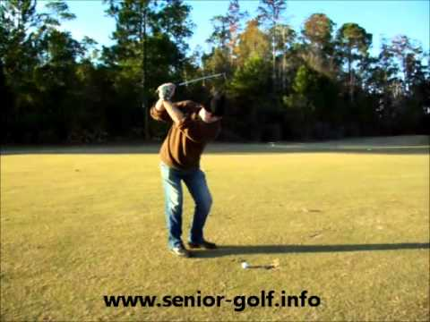 Chip Shot For Seniors with Backspin