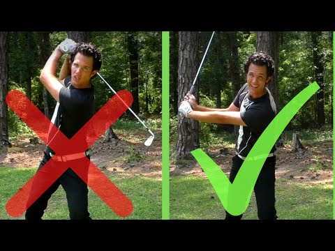 How to Shorten Your Backswing with this REALLY EASY TIP
