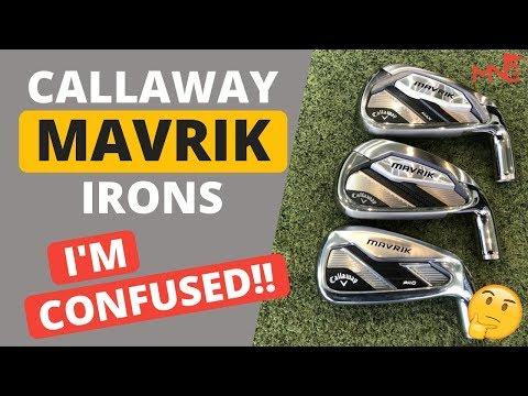 Callaway Have Confused Me!! Callaway Mavrik Iron Review Hitting All 3 Models