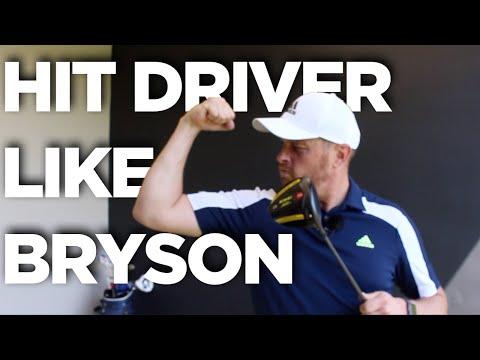DRIVE IT LIKE BRYSON DECHAMBEAU AND HIT DRIVER LONGER THAN EVER