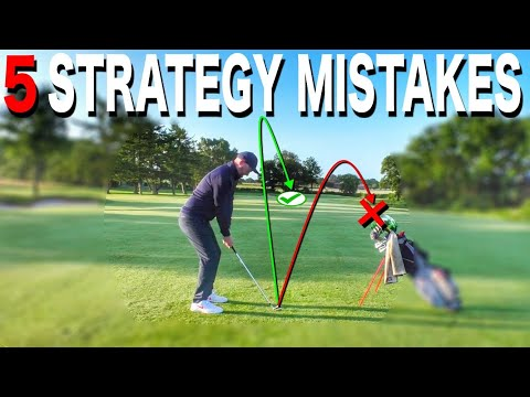 5 STRATEGY PLANS TO STOP BAD GOLF – SIMPLE GOLF TIPS