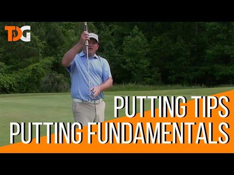 Putting Tips – Golf Putting Fundamentals – Tyler Dice Golf