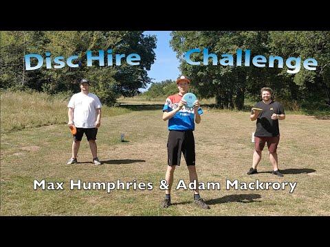 Horsenden Hill Disc Hire Challenge | Beginner Tips | Max, Adam & Olli | London Disc Golf Community