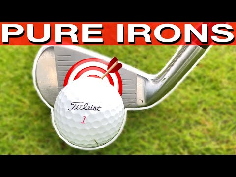 STRIKE YOUR IRONS PURE WITH 1 SIMPLE DRILL – SIMPLE GOLF TIPS