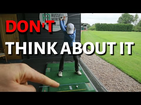 HOW TO CHANGE YOUR SWING WITHOUT THINKING ABOUT IT (SORT OF)