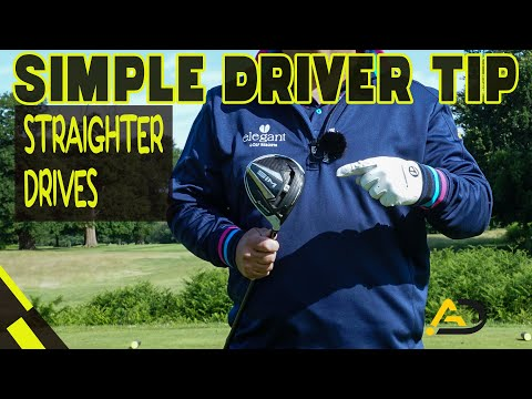Simple Tip To Hit Straighter Drives
