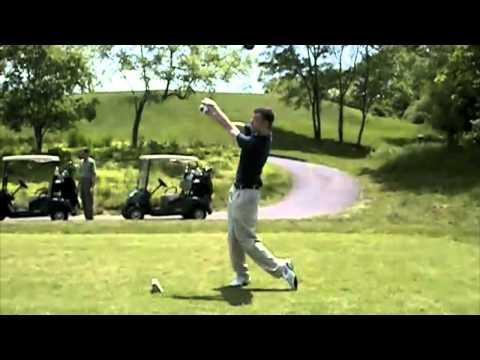 Driving the ball off the tee- Keep your head down!