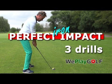 Perfect IMPACT with your IRONS – 3 simple golf drills
