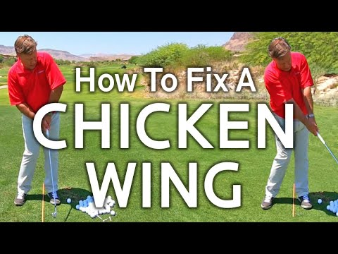 How To Fix A Chicken Wing In Your Golf Swing