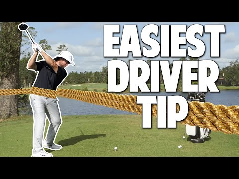 The EASIEST Driver Swing Tip   Learn an Effortless Golf Swing With This Simple Driver Tip
