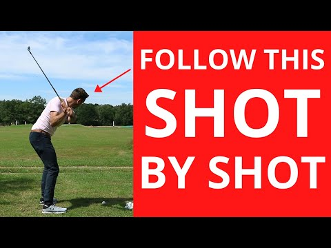 FOLLOW THIS SHOT BY SHOT ROUTINE TO CHANGE HOW YOU HIT THE GOLF BALL