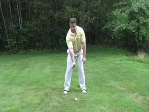 Golf Driver Lessons – Golf Driver Drill # 1 – Right Hand to Left Hip Connection