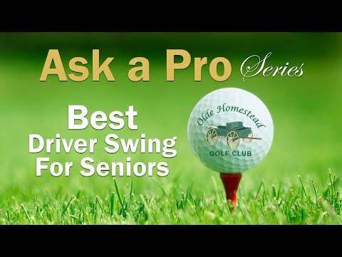 THE BEST TIP TO IMPROVE DRIVER SWING FOR SENIORS
