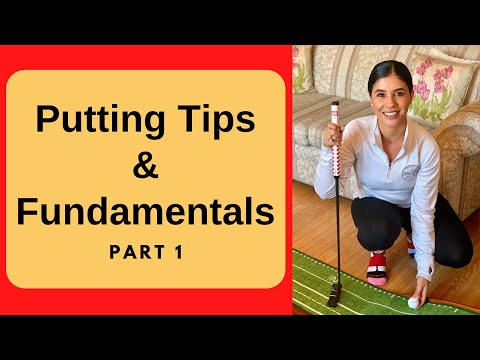 Indoor Putting Fundamentals and Golf Tips For Beginners
