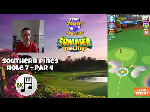 Golf Clash Tips – Summer Major 2020: Southern Pines NEW Hole 7 Front Tee, LH route