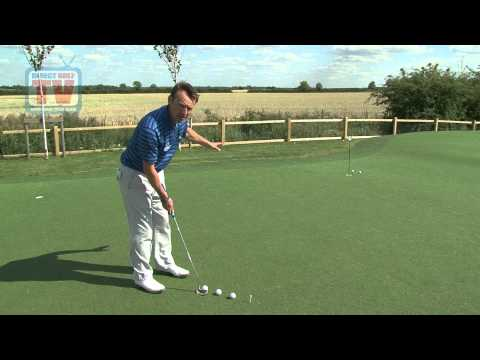 Tip Developing your putting feel – Golf Training Tip