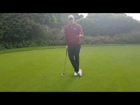 SR Golf – putting routine
