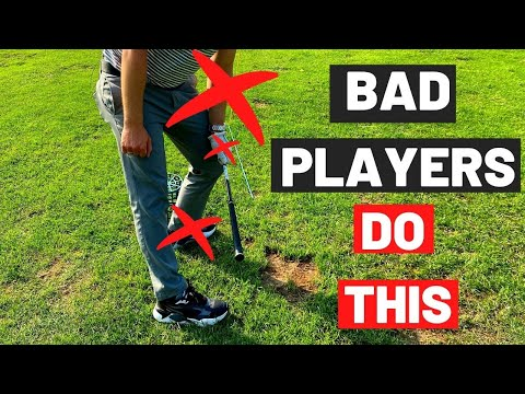 I SEE SO MANY BAD GOLFERS DO THIS!! Stop doing this in your golf swing