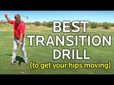BEST TRANSITION DRILL TO GET YOUR HIPS MOVING (More Hips More Distance)