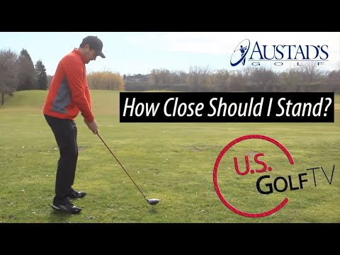 How Close Should You Stand to the Golf Ball? (Golf Driver Drills)