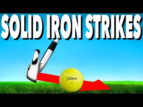 3 KEYS TO STRIKE YOUR IRONS PURE – SIMPLE GOLF TIPS