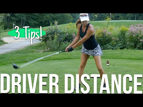 3 Tips for More Driver Distance
