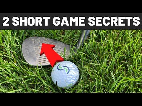 2 SHORT GAME SECRETS FOR LOWER SCORES – SIMPLE GOLF TIPS